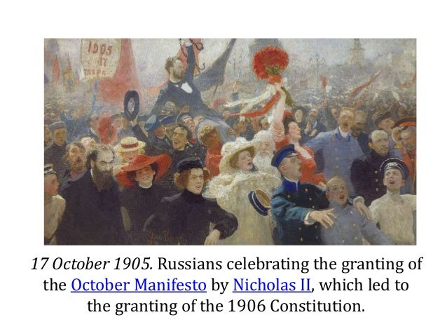 the october manifesto and grievances of Mao's evaluations of stalin a quotes approvingly two long passages from stalin on the national question and with respect to the significance of the october revolution for indeed, its concrete practice was to 'pay call on the poor to learn of their grievances,' to.