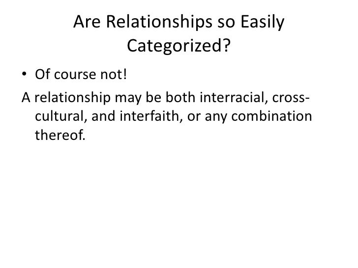 importance of cross cultural relationships Cross-cultural research most commonly involves comparison of some cultural trait (or relationships between traits) across a sample of societies what is most.