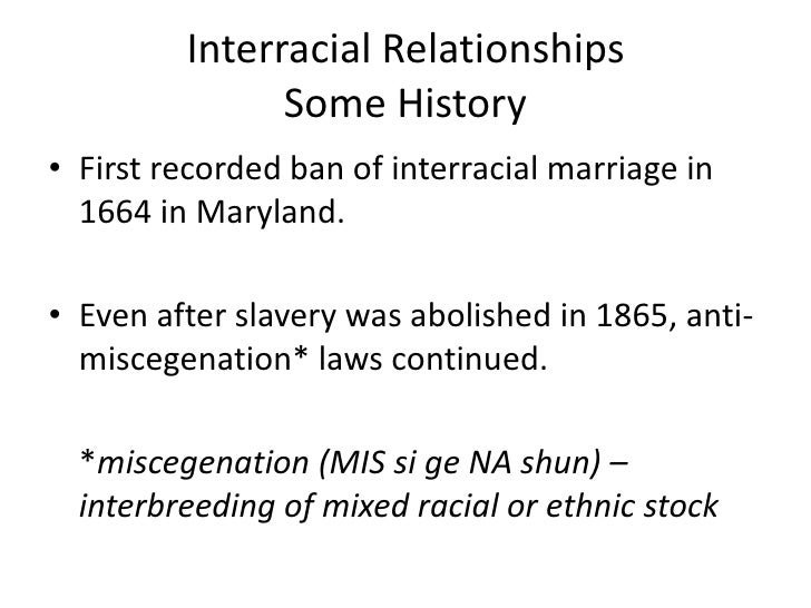 interracial relations and marriages essay