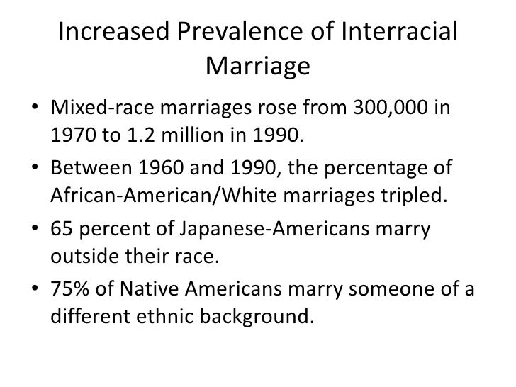 Interracial marriages powerpoint