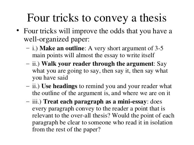 How to write term paper