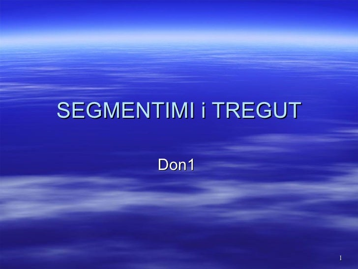 SEGMENTIMI i TREGUT Don1