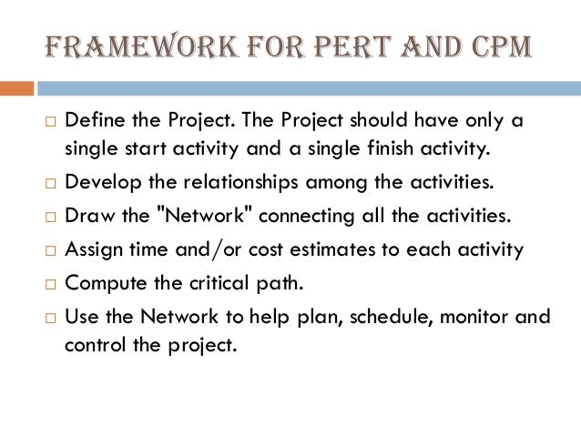Lect 67 Network Diagrams Pert And Cpm