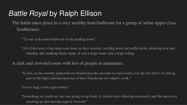 battle royal ellison analysis