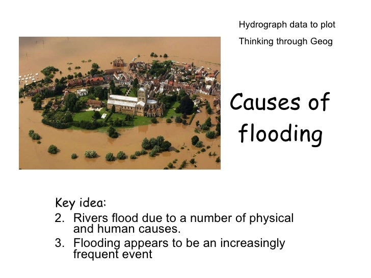 How Do Humans Cause Flooding?