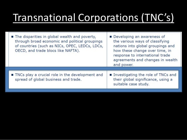 pros and cons of transnational corporations In this lesson, we will learn about transnational corporations we will define the  term and discuss the controversial characteristics the lesson.