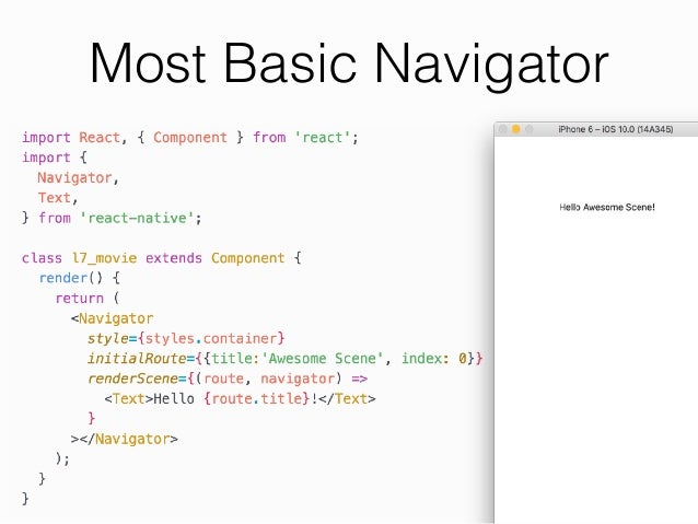 react native tutorial 2019