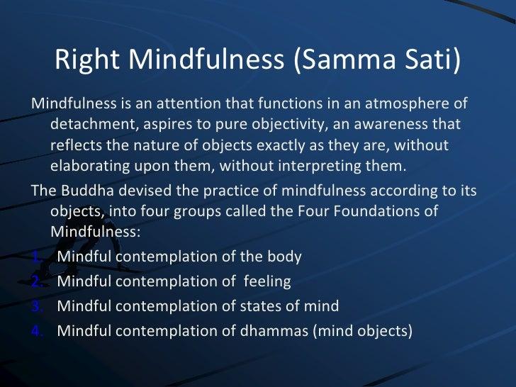 ; 41. Right Mindfulness (Samma ...