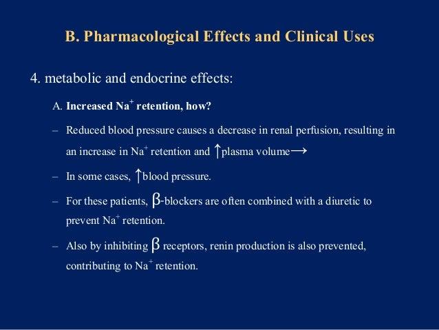B. inhibit lipolysis: ↑ plasma VLDL, ↓ HDL, ─LDL ↓ HDL/LDL ratio→ coronary heart disease C. partially inhibit glycogenolys...