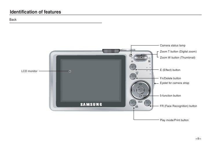 samsung camera l830 l730 user manual rh slideshare net