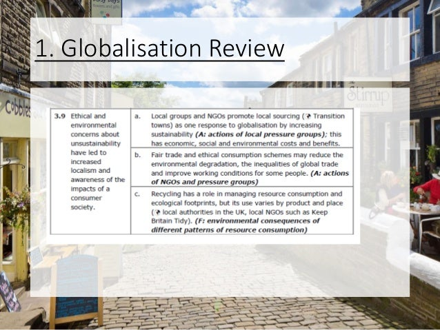 1. Globalisation Review