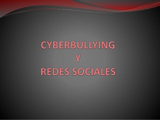 ¿Qué es el cyberbullying? El cyberbullying es el uso de los medios telemáticos (Internet, telefonía móvil y videojuegos on...