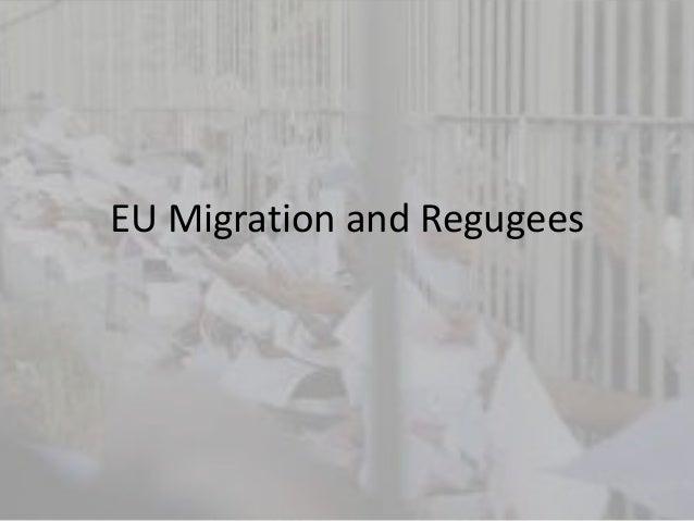 EU Migration and Regugees