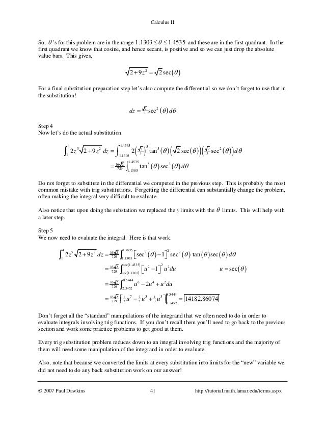 Integral Calculus Problems And Solutions Pdf