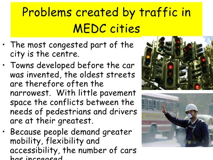 traffic problem in city urban areas Delivering packages and reducing urban traffic congestion  to make statistically  valid statements about the change in truck traffic in cities.
