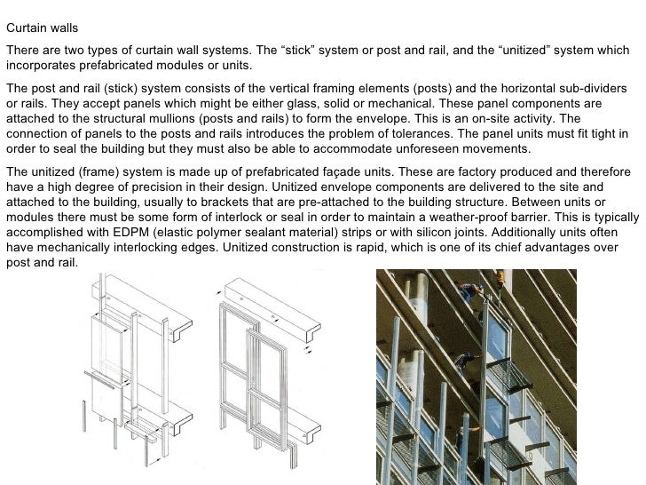 Curtain Wall Types : Two types of curtain wall menzilperde