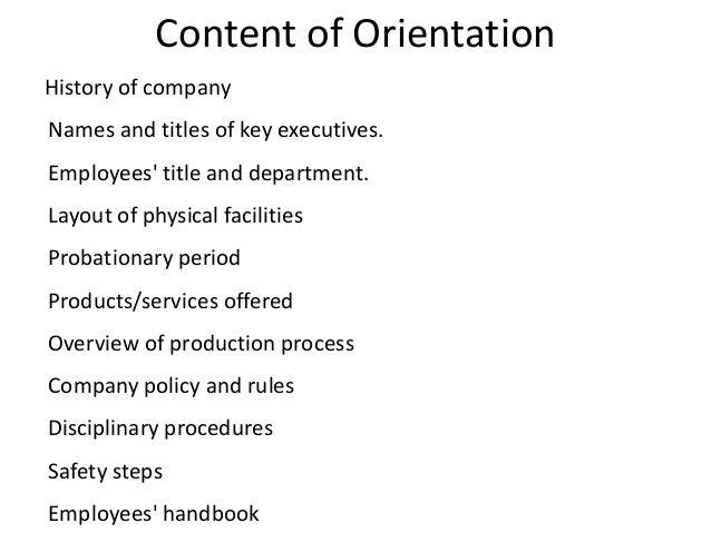 simple employee handbook sample