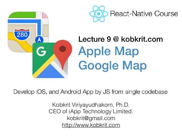 React-Native Tutorial] Map