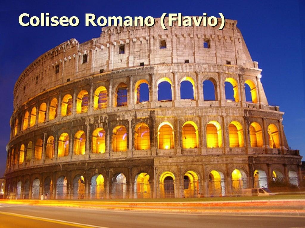 Antigua Roma Coliseo Romano Historia