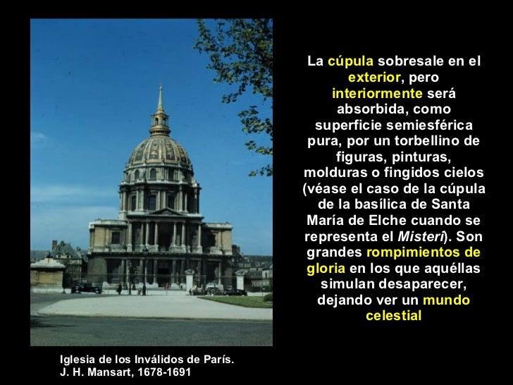 La arquitectura barroca caracteristicas generales for Definicion de estilo en arquitectura