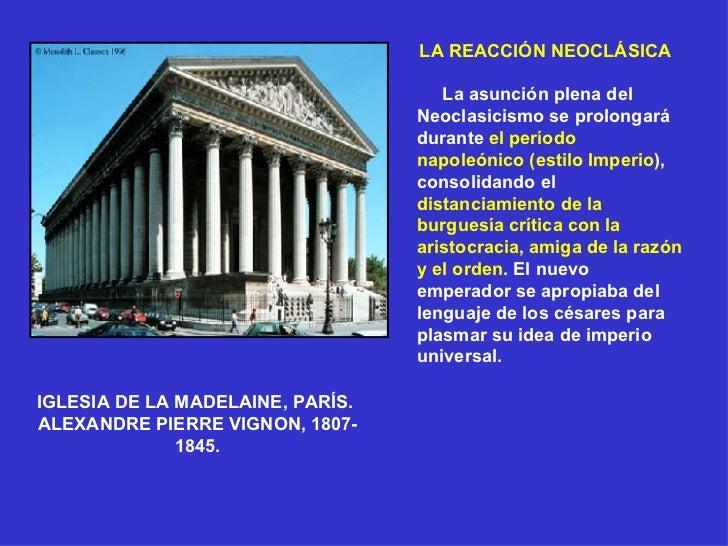 La Arquitectura Neocl Sica