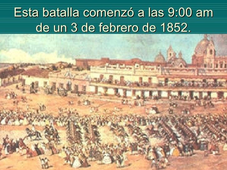 Resultado de imagen para batalla de caseros 1852