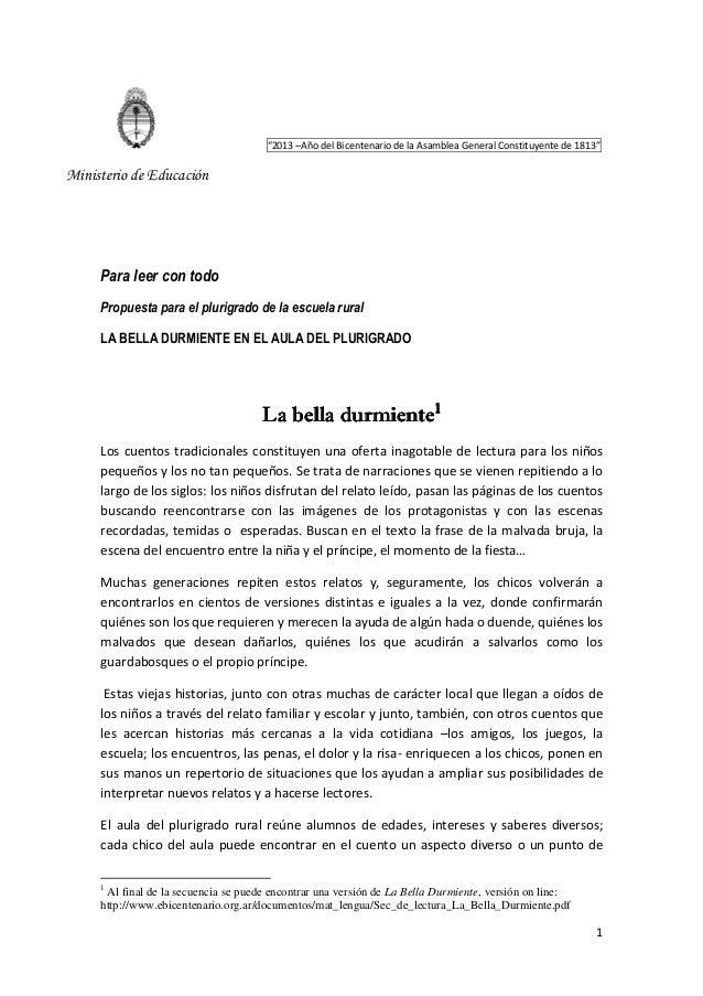 """ec9bee72c9b60f 1 """"2013 –Año del Bicentenario de la Asamblea General Constituyente de 1813""""  Ministerio ..."""