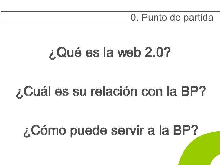 La biblioteca como usuaria de la web 2.0 Slide 3