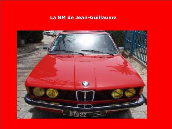 La BM de Jean-Guillaume