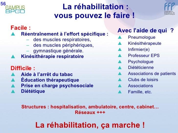 La réhabilitation : vous pouvez le faire !  <ul><li>Facile : </li></ul><ul><li>Réentraînement à l'effort spécifique :  </l...