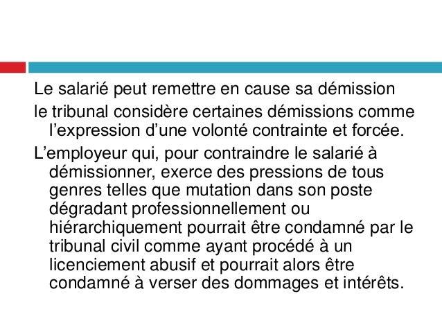 La Cessation Du Contrat De Travail Maroc
