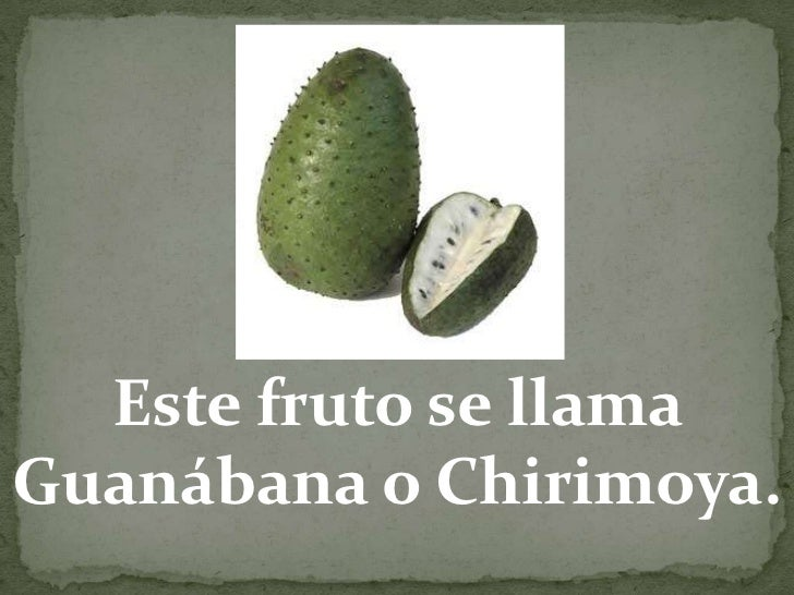 Este fruto se llamaGuanábana o Chirimoya.