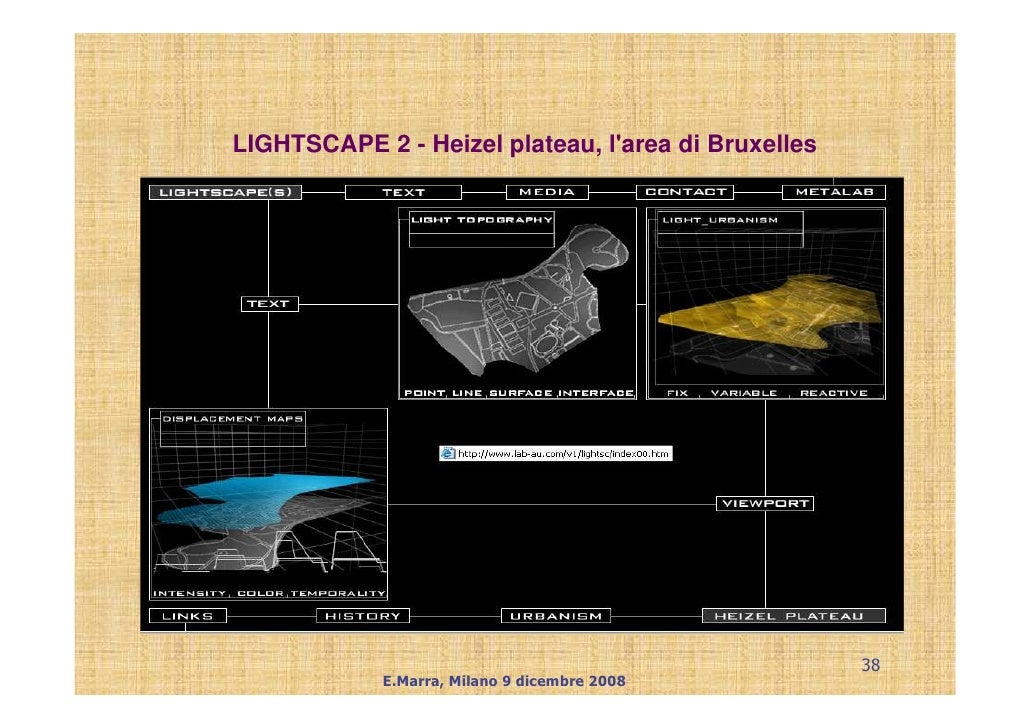 LIGHTSCAPE 2 - Heizel plateau, l'area di Bruxelles                                                          38            ...