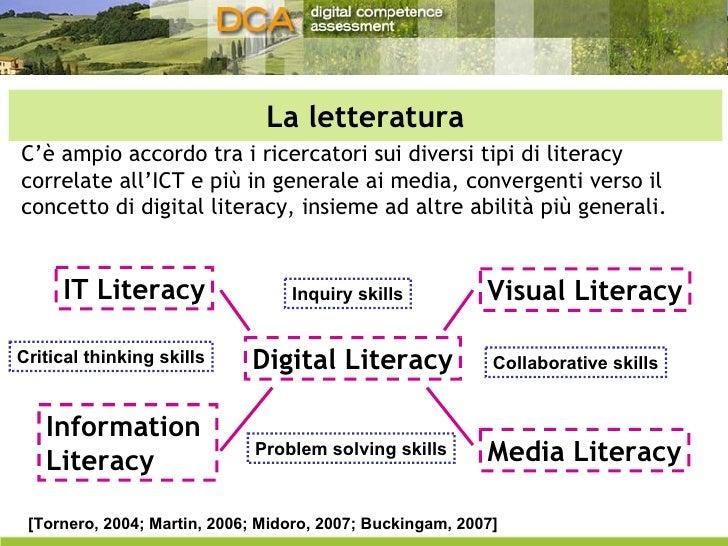 La letteratura C'è ampio accordo tra i ricercatori sui diversi tipi di literacy correlate all'ICT e più in generale ai med...
