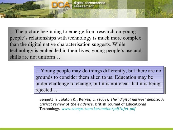 … Young people may do things differently, but there are no grounds to consider them alien to us. Education may be under ch...
