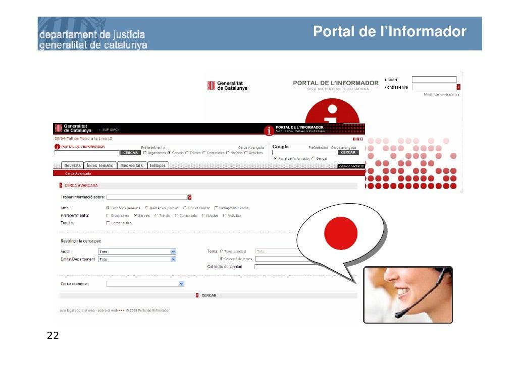 La comunicaci relacional al departament de just cia for Oficina virtual generalitat