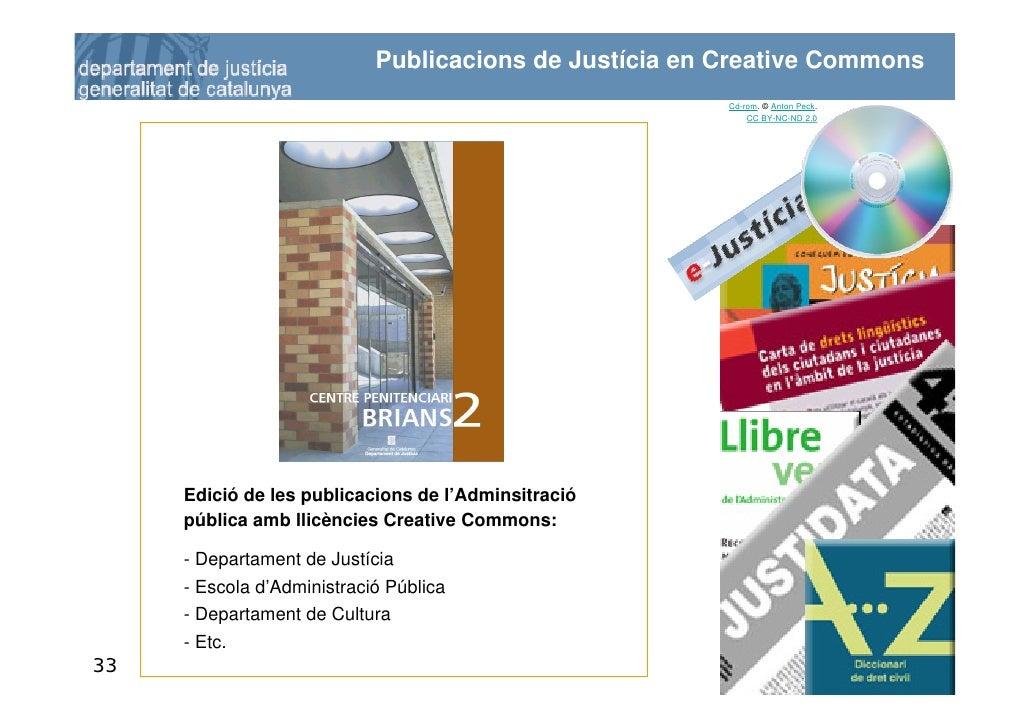 Publicacions de Justícia en Creative Commons                                                         Cd-rom. © Anton Peck....