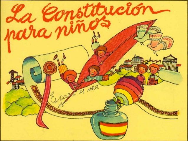 España es una nación formada por  muchos pueblos, gentes y  problemas.  En 1.978 se decidió crear un  documento en el que ...