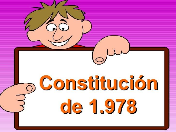 Constitución de 1.978