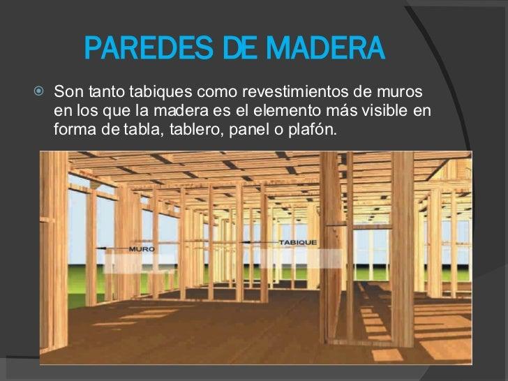 Tabiques De Madera Great Habitacin With Tabiques De