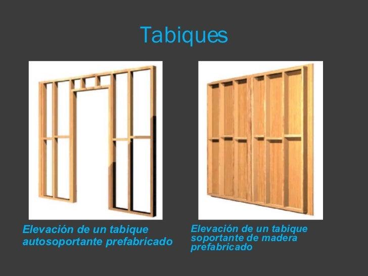 La construcci n con madera - Tabiques de madera ...