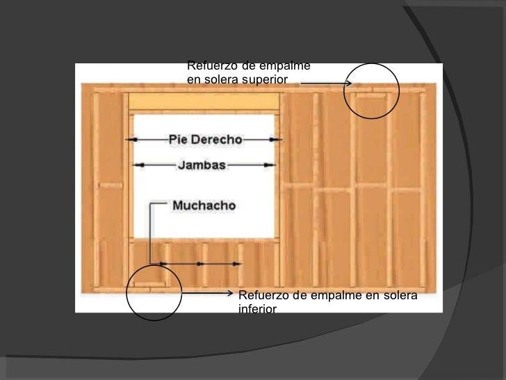 La construcci n con madera - Dinteles de madera ...