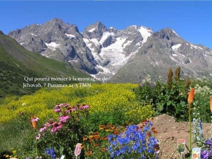 Qui pourra monter à la montagne de Jéhovah, ? Psaumes 24:3 TMN<br />