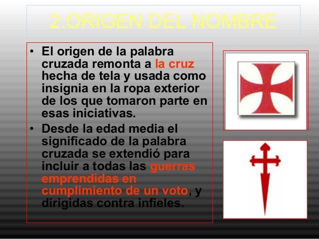 Proceso de las cruzadas for Significado de exterior