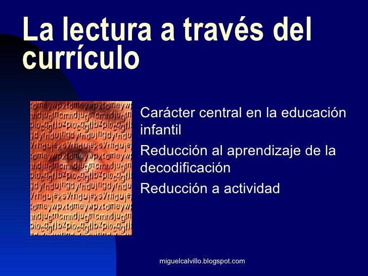 La enseñanza de la lectura en educación secundaria Slide 2