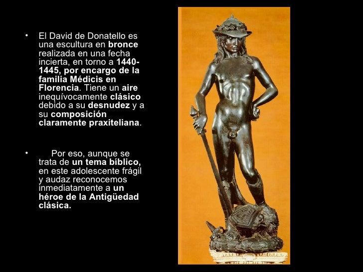 La escultura del quatrocento for De donde sacan el marmol
