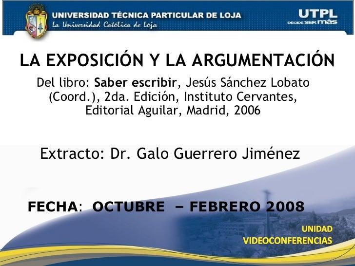 Del libro:  Saber escribir , Jesús Sánchez Lobato (Coord.), 2da. Edición, Instituto Cervantes, Editorial Aguilar, Madrid, ...