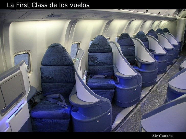 Air Canada La First Class de los vuelos