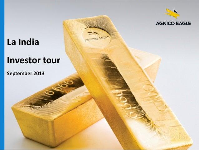 La India Investor tour September 2013