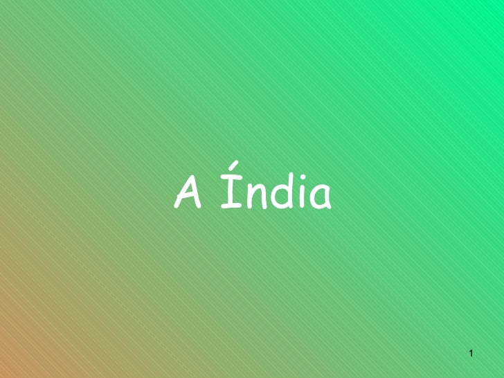 A Índia